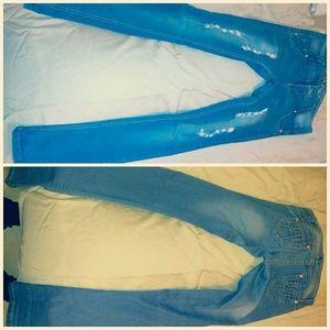 Denim - light blue jeans
